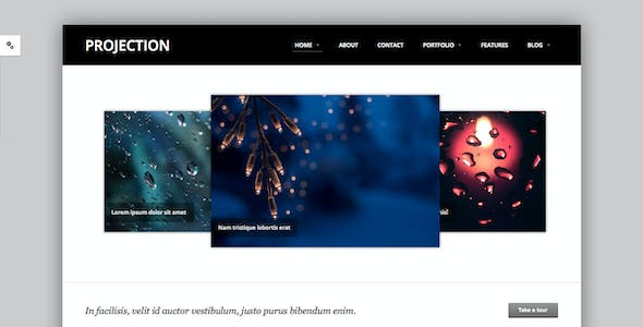 Projection - Responsive HTML5 Template