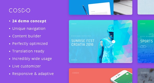 Cospo – Creative Multi-purpose WordPress Theme - Creative WordPress