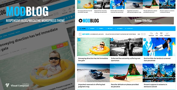 ModBlog - Blog/Magazine WordPress Theme - Blog / Magazine WordPress