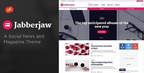 Jabberjaw - A Social News Theme