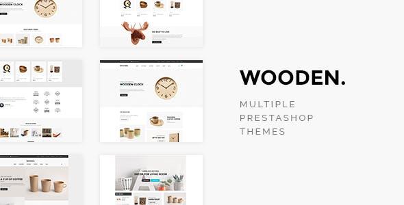 Leo Wooden Home Decor Prestashop Theme for Furniture & Interior