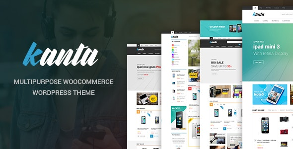 Kanta - Multipurpose WooCommerce WordPress Theme - WooCommerce eCommerce