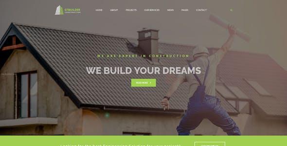 GTBuilder - Building & Construction HTML5 Template