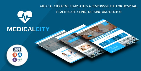 Medical City - Multi Theme For Hospital, Health Care, Clinic, Nursing and Doctor Html Template - Health & Beauty Retail