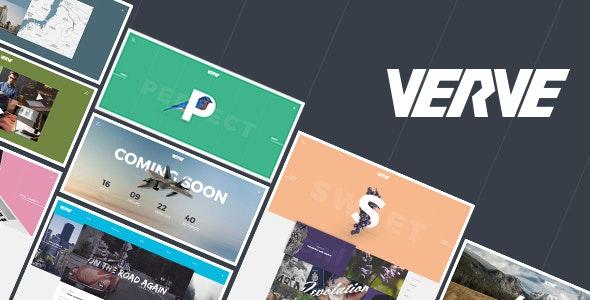 Verve – Agency & Portfolio Responsive HTML5 Template - Portfolio Creative