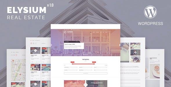 Elysium - Real Estate WordPress Theme