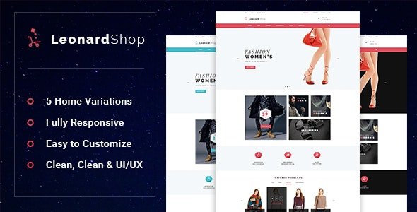 Leonard - Fashion Store Prestashop Theme - Entertainment PrestaShop