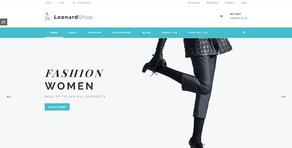 Leonard - Fashion Store Prestashop Theme