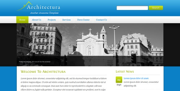 Architectura - 4 in 1 Clean HTML/CSS - Business Corporate