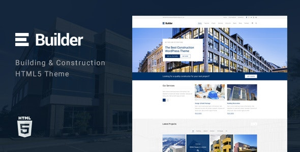 Builder - Building & Construction HTML Template - Business Corporate