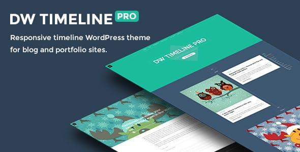 DW Timeline Pro - Reponsive Timeline WordPress Theme
