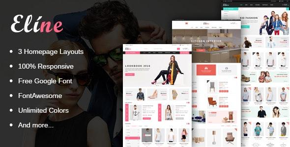 Eline - Multipurpose Responsive Magento Theme  - Magento eCommerce