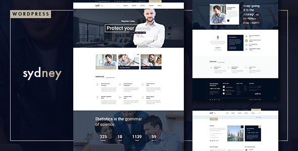 Sydney - Multiuse Financial Business WordPress Theme - Business Corporate
