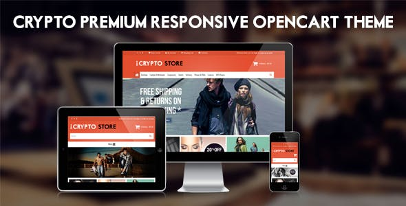 Crypto - Premium Responsive Opencart Theme