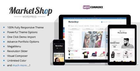 Marketshop   Ultimate WooCommerce Theme