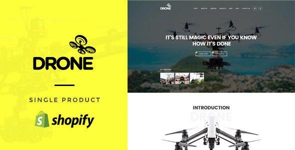 Drone - Single Product Shopify Theme - Technology Shopify