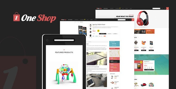 One Shop - Shopify Theme - Technology Shopify