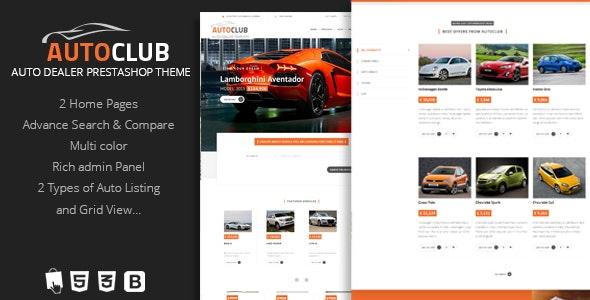 Auto Club - Responsive Car Dealer Prestashop Theme - Miscellaneous PrestaShop