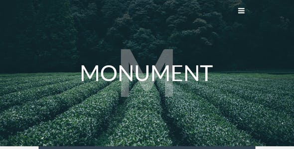 Monument – Responsive HTML Email + StampReady, MailChimp & CampaignMonitor compatible files