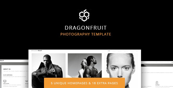 Dragon Fruit - Creative Photography Template - Photography Creative
