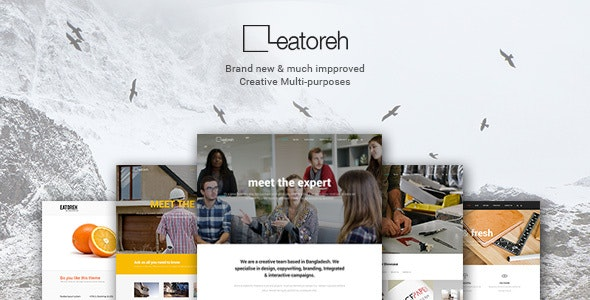 Eatoreh - Responsive and Fresh Joomla Template - Creative Joomla