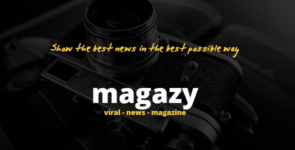 Magazy - Viral, News & Magazine WordPress Theme - Blog / Magazine WordPress