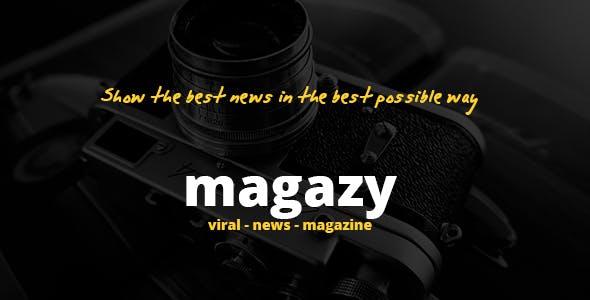 Magazy - Viral, News & Magazine WordPress Theme
