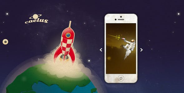 Caelus - App Landing & Coming Soon WP Theme