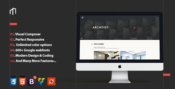 Architekt - Responsive Architecture Theme - Business Corporate