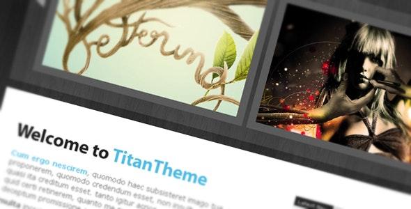 Titan Theme - xHTML / CSS - - Creative Site Templates