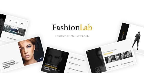 Fashion Lab - Creative and Clean Fashion HTML Template - Photography Creative