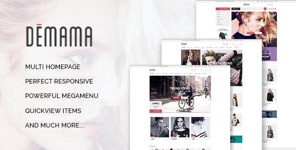 ST Demama - Shopify Template - Fashion Shopify