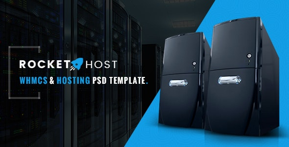 Rocket Host - WHMCS & Hosting PSD Template - Hosting Technology
