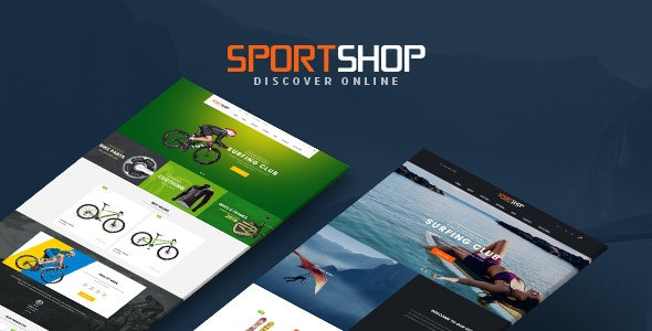 Ves Sportshop Magento 2.2.x Responsive Template - Shopping Magento