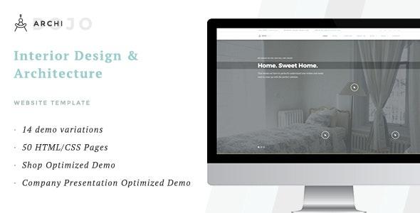 ArchiDojo - Interior Design & Architecture Theme - Business Corporate