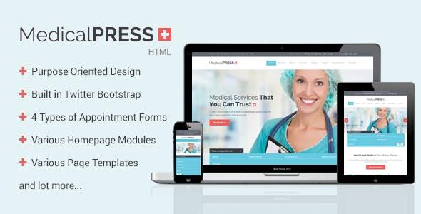 MedicalPress - Health HTML Template
