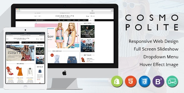 Premium Fashion Shopify Theme | Comospolite - Fashion Shopify