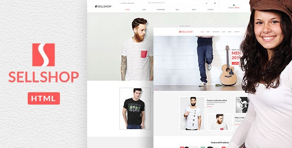Sell Shop - Fashion Store HTML Template - Fashion Retail
