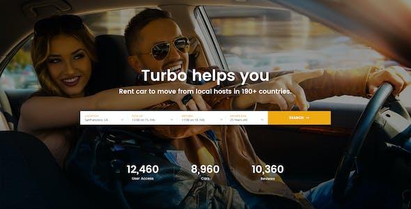Turbo - Car Rental HTML Template