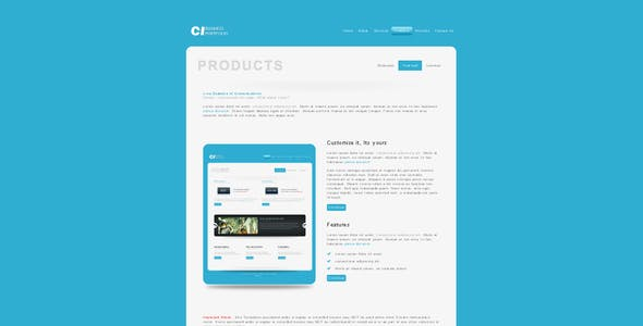CL Business & Portfolio - Created to be customized
