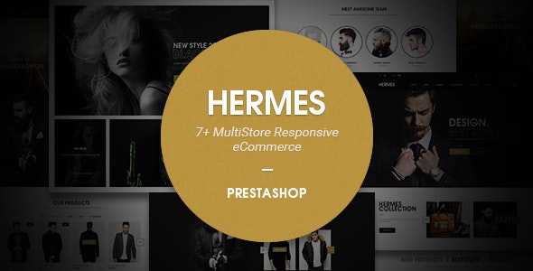Hermes Responsive Prestashop Theme - Fashion PrestaShop