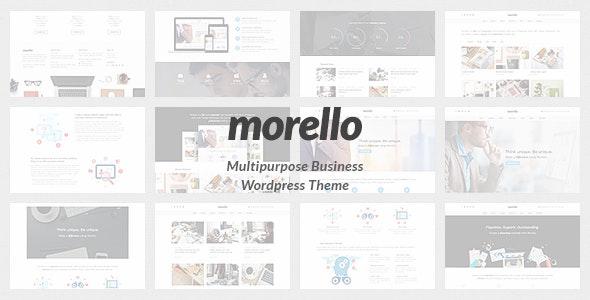 Morello - Multipurpose Business WordPress Theme - Business Corporate