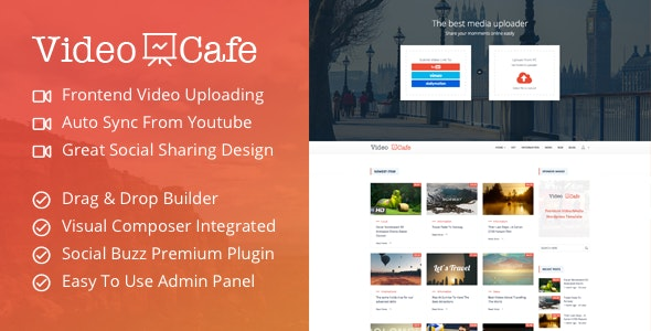 Video Cafe - Responsive WordPress Video Magazine Theme - Film & TV Entertainment
