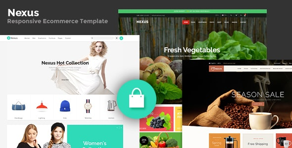 Nexus - Responsive Ecommerce Template - Fashion Retail