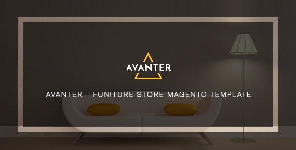 Avanter -  Premium Furniture Store Magento Theme - Magento eCommerce