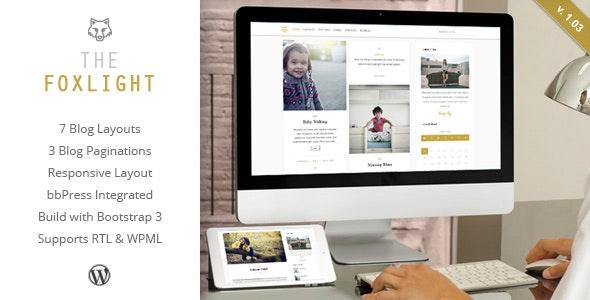 Foxlight - WordPress Personal Blog Theme - Personal Blog / Magazine