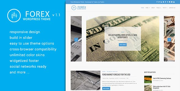 Forex Trading WordPress Themes From