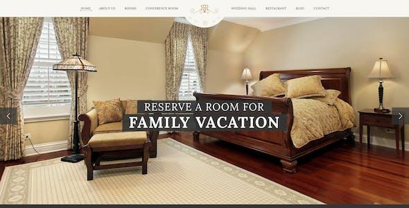RangeRelaxe - Hotel & Resort PSD Template