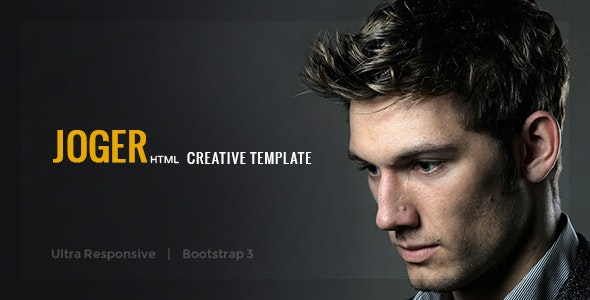 Joger - Creative Multi-Purpose Template - Portfolio Creative