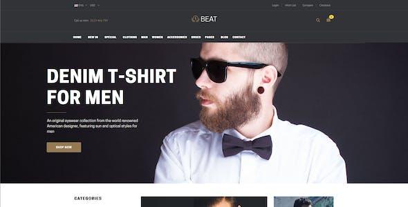 Beatshop Creative WooCommerce WordPress Theme
